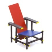 Red Blue Chair Gerrit Rietveld
