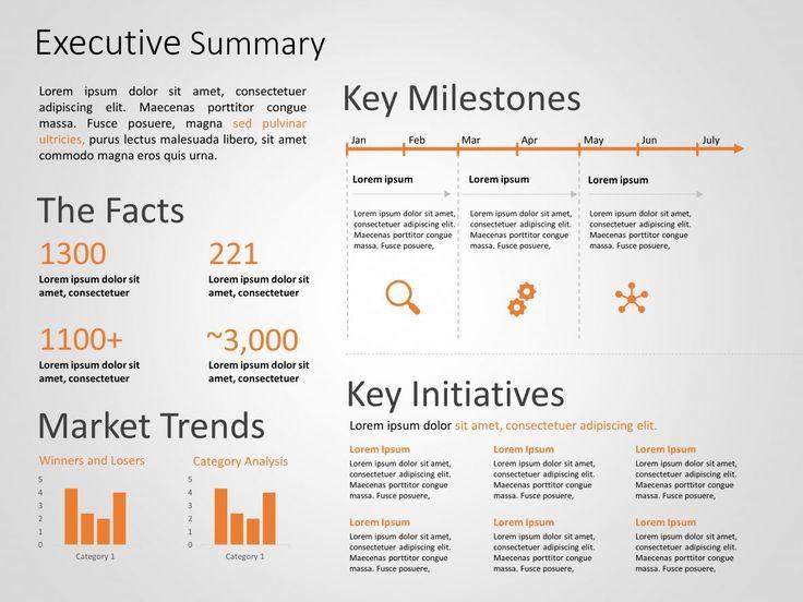 Executive Summary PowerPoint Template 24 Executive