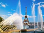Eiffel Tower and Fountain, Paris, France:  Want to visit here soon...