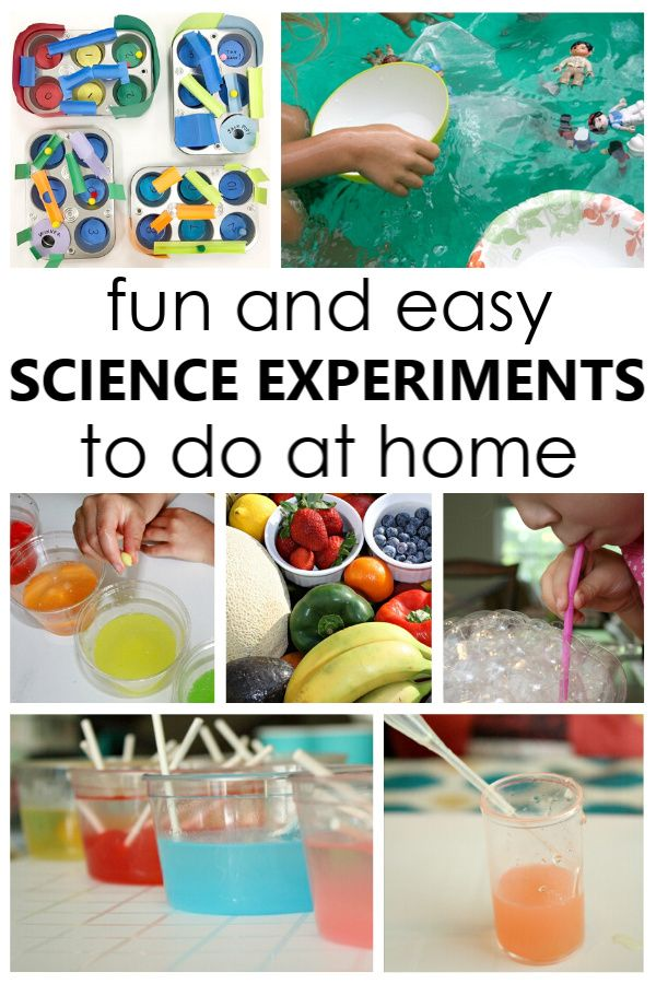 Easy Science Experiments To Do At Home Fantastic Fun Learning Easy Science Easy Science Experiments Science Experiments