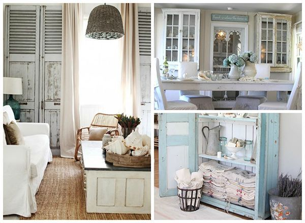 Beach Cottage Chic – Who wouldn't want to call a cozy coastal cottage right …
