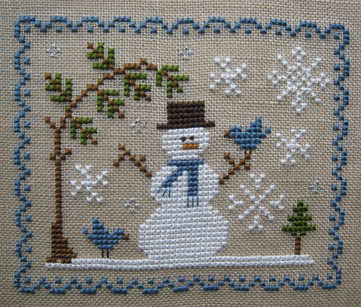 Let it snow Country Cottage Needlewok