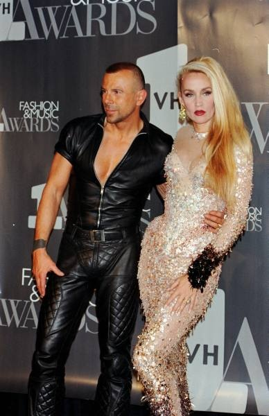 theirry mugler and jerry hall!