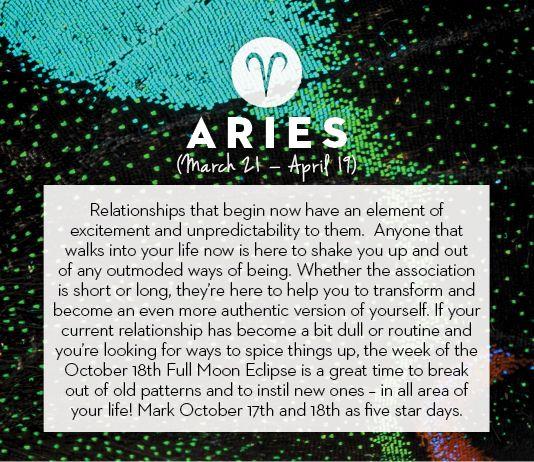 #Aries October #horoscope 2013