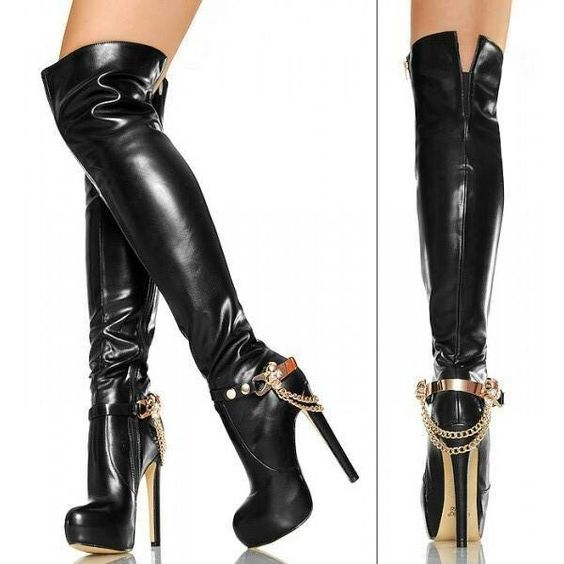 love these hooker boots