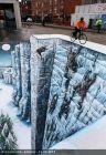 Świetny street-art w 3D - [Zdjęcia]