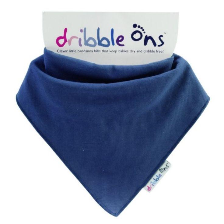 Dribble Ons Dribble Bib Navy