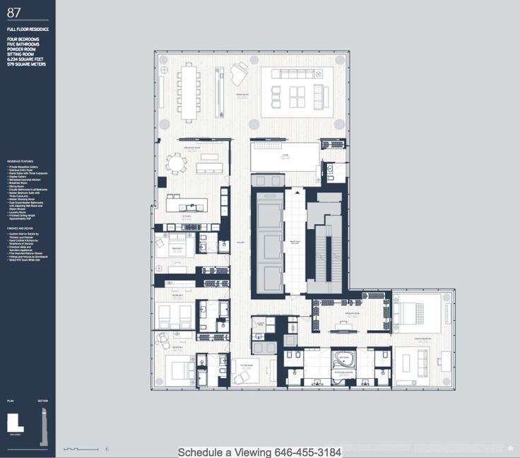 One57 Floor Plans
