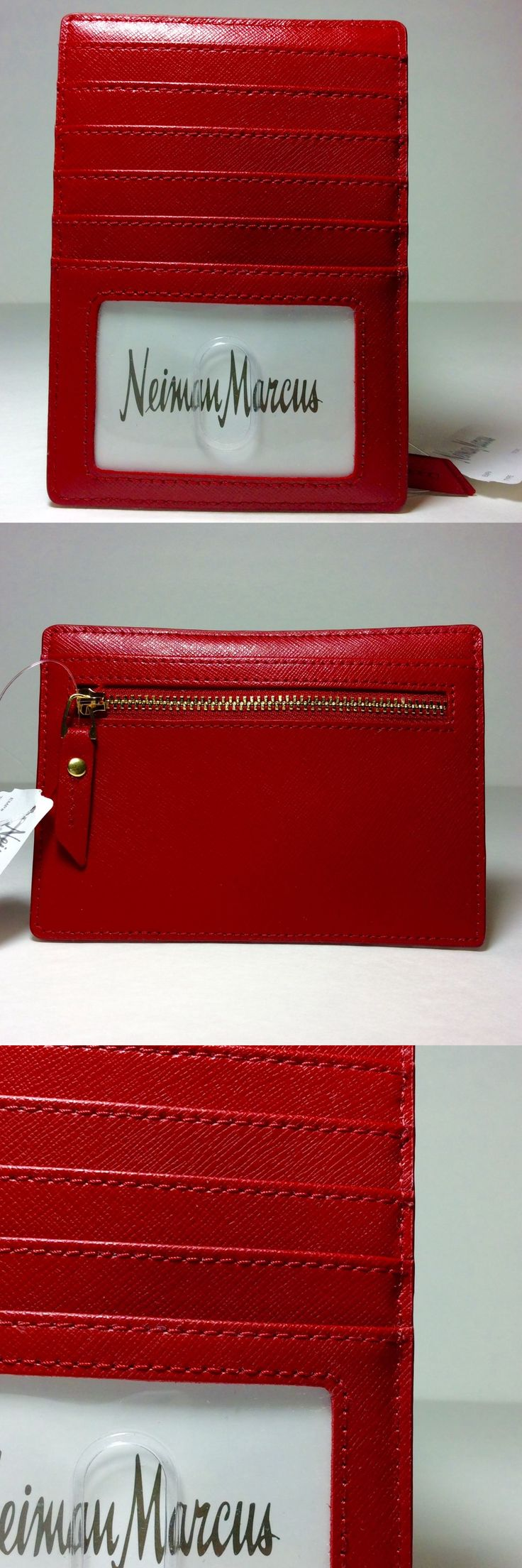 Business and Credit Card Cases 105544: Neiman Marcus Women S Card Case Zipper Coin Case Red.Nwt. -> BUY IT NOW ONLY: $49.95 on eBay!