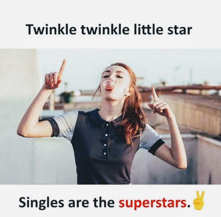 I am single see..  Heheee..