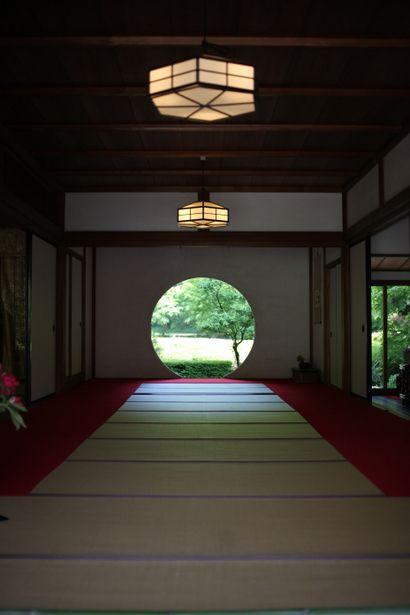 Meigetsu-in temple, Kamakura, Japan