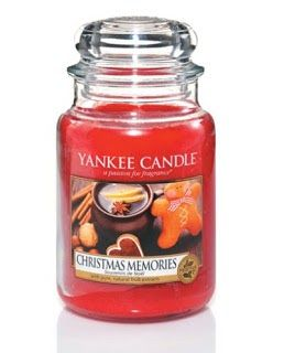 YANKEE CANDLE CHRISTMAS 2013  Christmas Memories