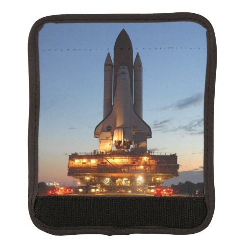 Space shuttle Discovery luggage handle wraps