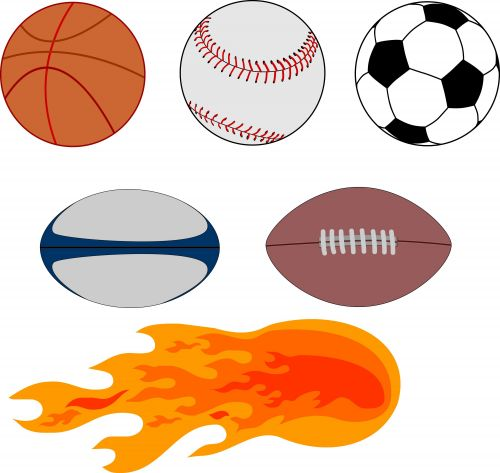 sports balls printable ball soccer coloring vector equipment pages graphics football basketball printables galore sport clip stream live clipart baseball