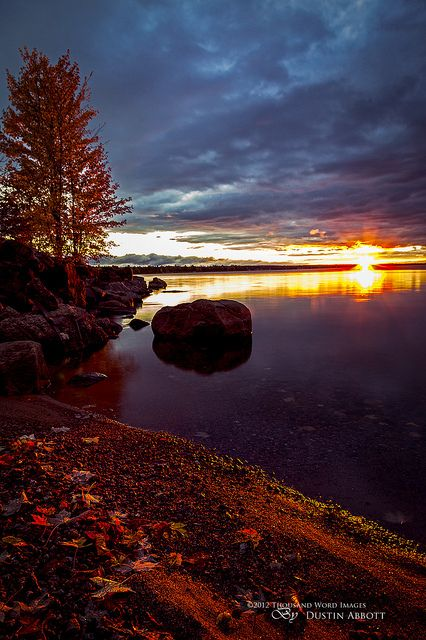 """""""Set the World on Fire - Pembroke/Petewawa, Ontario, Canada - © 2012 Thousand Word Images by Dustin Abbott"""