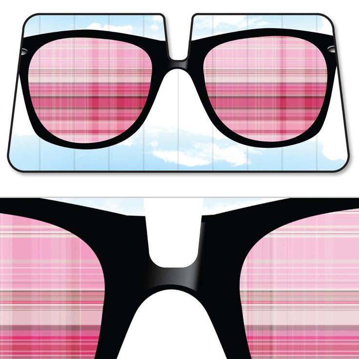 Sunglasses Accordion Auto Sun Shade Original BDK Art Pattern - Cool Sunglasses & Pink Blinders Sunshade. This Sunshade will keep your interior protected from damaging sun rays, which leads to peeling,
