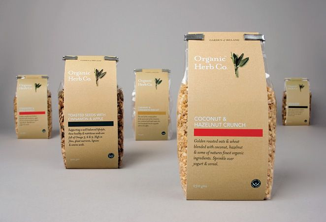 organic packaging - i like that it's simple, you can see the product, it looks very affordable - could be a good way to start