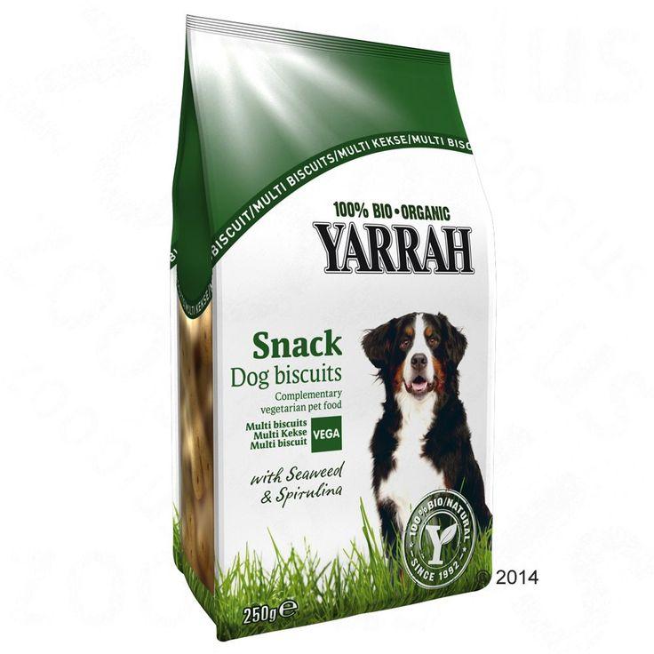 Animalerie  Yarrah Bio Biscuits végétariens pour chien  3 x 250 g