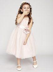 Lola Blush Flower Girl Dress