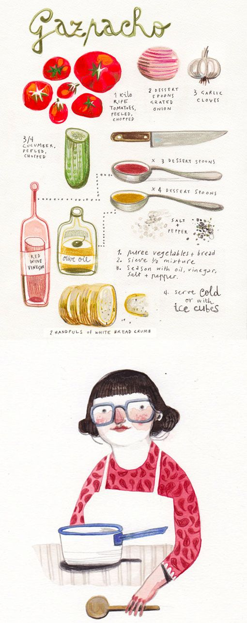 Want to try this & love the illustrations | felicita sala