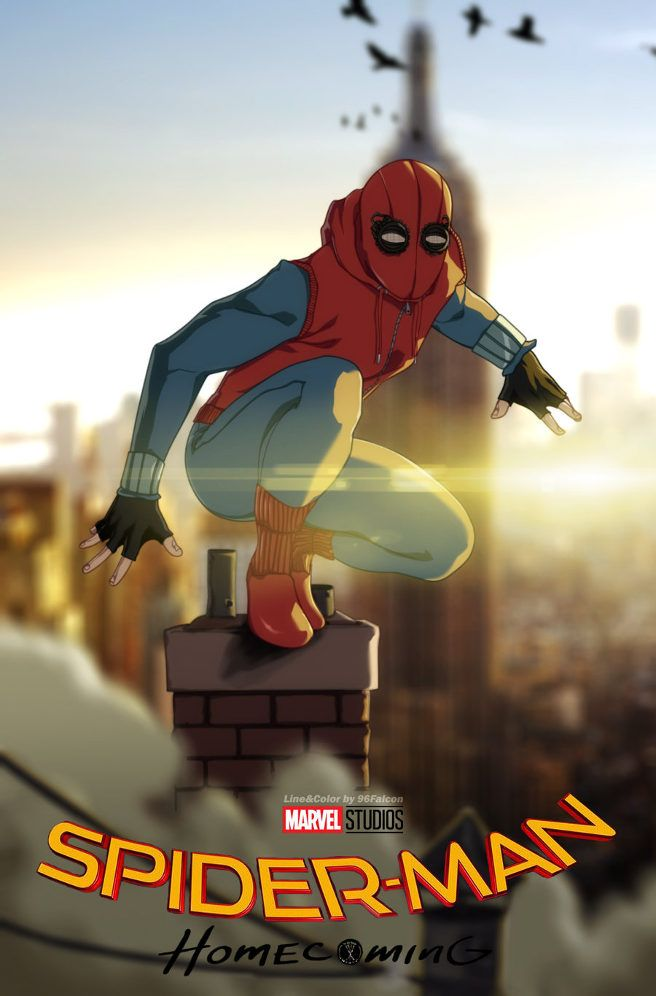 Spider-Man by Nikolay Zhirkov----I just saw the movie and it was AWESOME! I love Tom Holland as Spidey!
