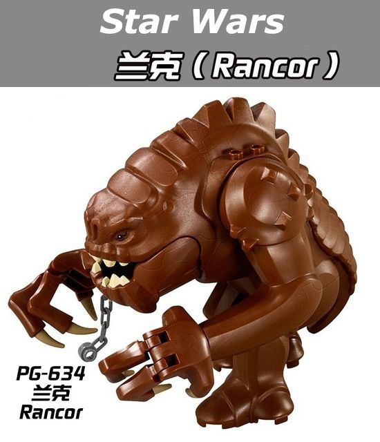 50Pcs/Lot PG634 Star Wars Legacy Collection Jabba Rancor Building Block Bricks Action DIY Collection Baby  Toys #Affiliate