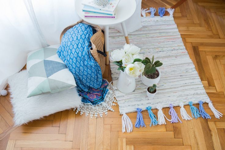 try this ikea rug hack to spruce up your bedroom  ikea