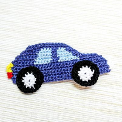 Make a Crocheted Car Applique