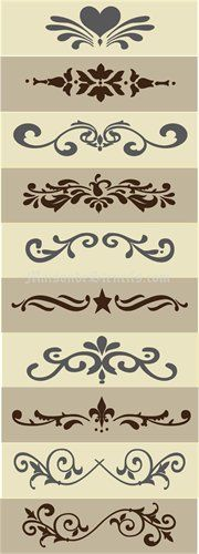 Stencil ideas                                                                                                                                                                                 More