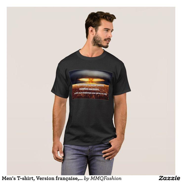 Men's T-shirt, Version française, French Version T-Shirt