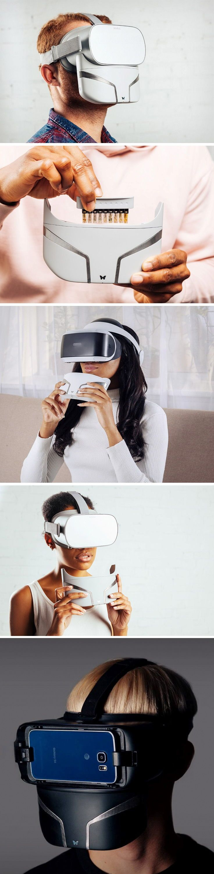 The Feelreal is an attachment that adds an olfactory element to your VR experience. Compatible with the Oculus Rift, Go, HTC Vive, Samsung Galaxy VR, …
