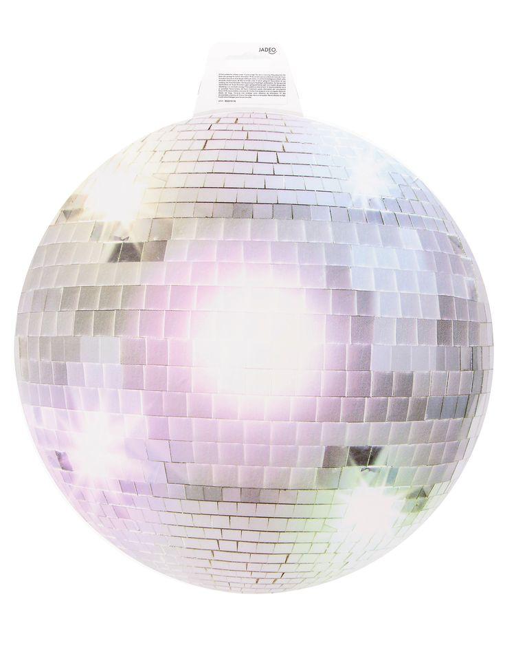 Marvelous Silberne Disco Kugel Wanddeko