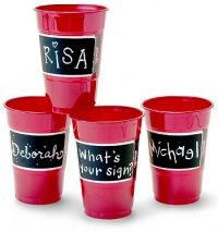 Etch-It Cups for your Oyster Roast Rehearsal Supper!