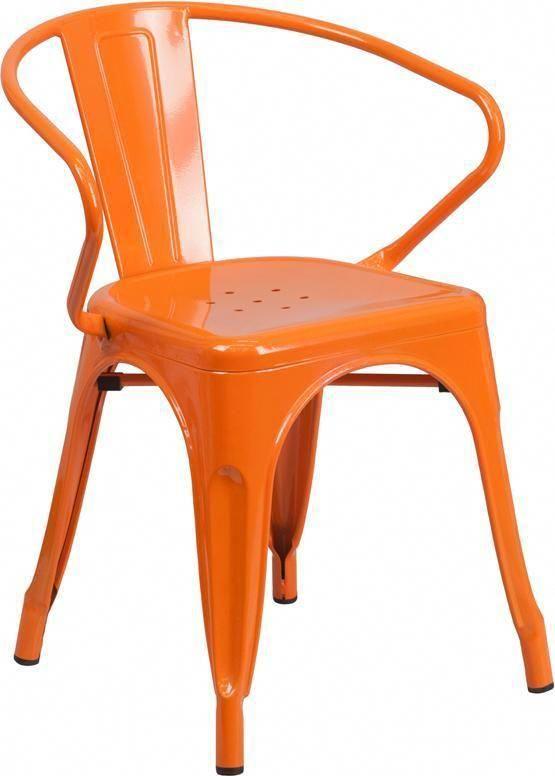 Metal Indoor Outdoor Chair With Arms Metaloutdoorchairs