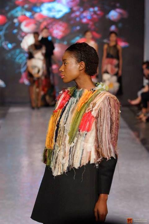 Lilla Csefalvay shows 'Vanitas' graduate collection on Vancouver Fashion Week.