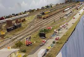 Image result for model railroad shelf track plans