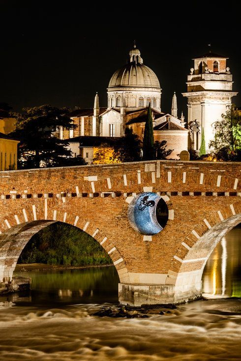 Ponte di Pietra, Verona, Italy