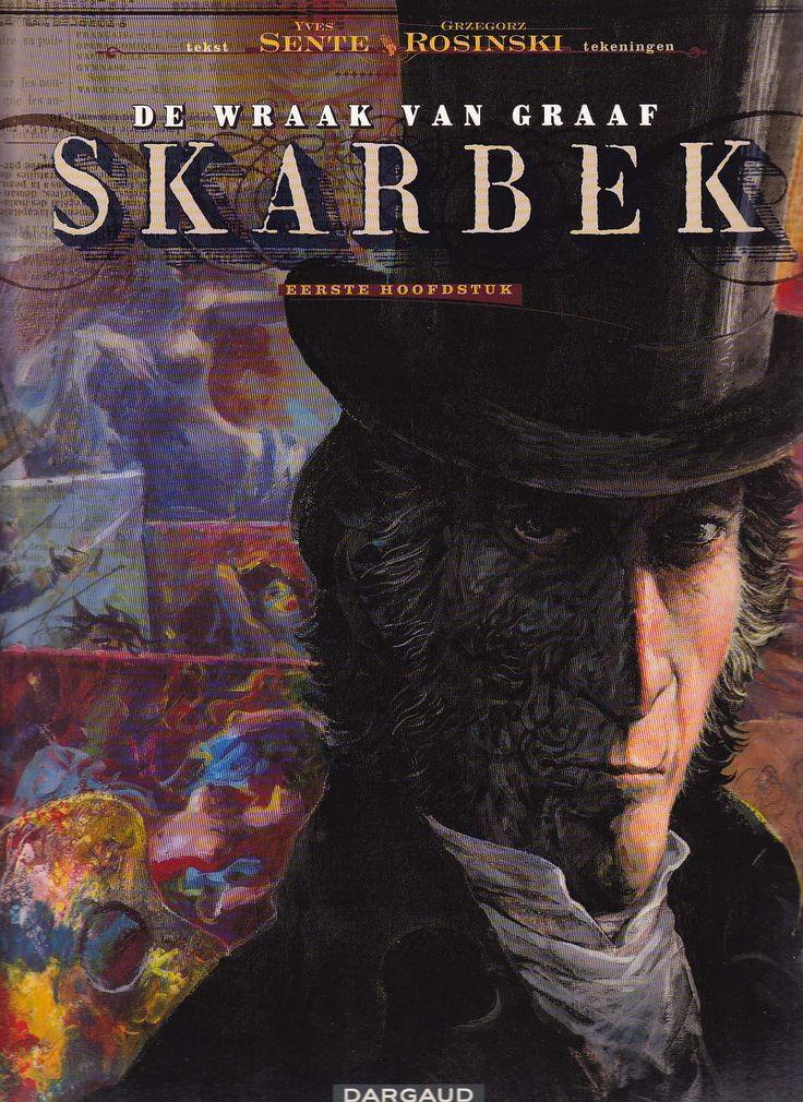 Rosinski. De Wraak Van Graaf Skarbek is een geschilderd strip-tweeluik van toptekenaar Rosinski (Thorgal, De Chinkel, De klaagzang van de verloren gewesten) op scenario van Sente (Blake & Mortimer).