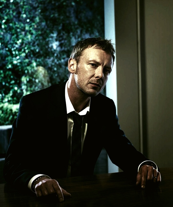 John Simm -- reminds me of a young Mickey Rourke.