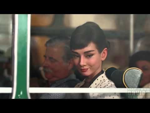 Not the real Audrey Hepburn, but it sure looks like her.