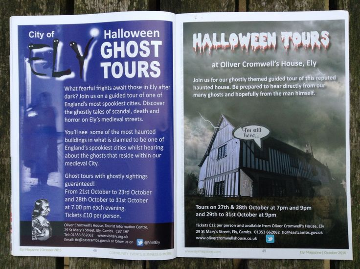 Ely ghost tours