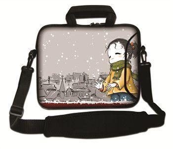 Wholesale laptop shoulders bag for macbook air/pro/xiaomi air 13 13.3 14 15 15.6 17 neoprene compurter bag for hp/asus