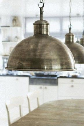 We love these oversized pendent lights!