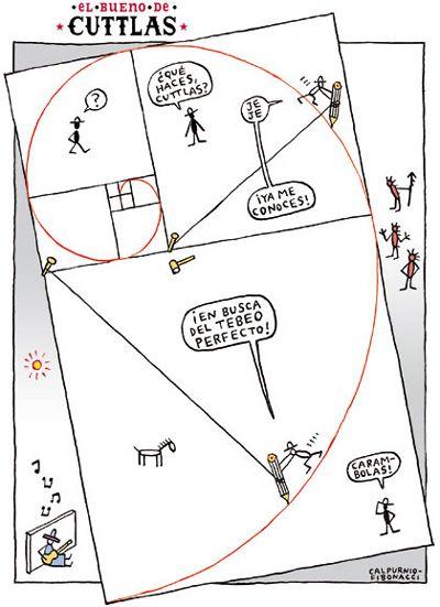 El bueno de Cuttlas y Fibonacci. | Matemolivares