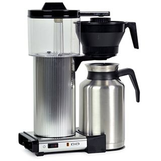 Larger capacity 1.8 litre and brews directly into a thermal carafe. Extra carafes available.