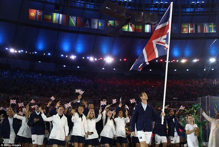 Rio Olympics 2016 opening ceremony launches Games as Andy Murray carries Team GB flag