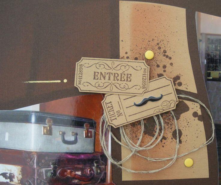 17 meilleures images propos de azza scrap deco sur pinterest pochoirs - Detective hotel etretat ...