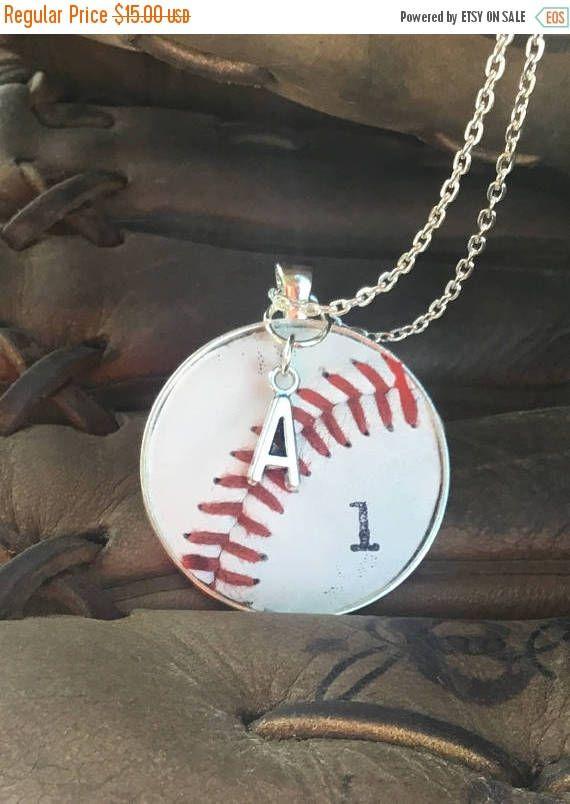 SALE Baseball Jewelry Baseball Necklace Baseball Team Gifts