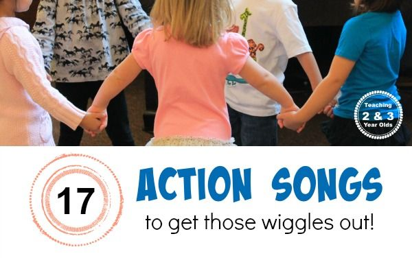 Action Songs for Preschoolers - Teaching 2 and 3 year olds