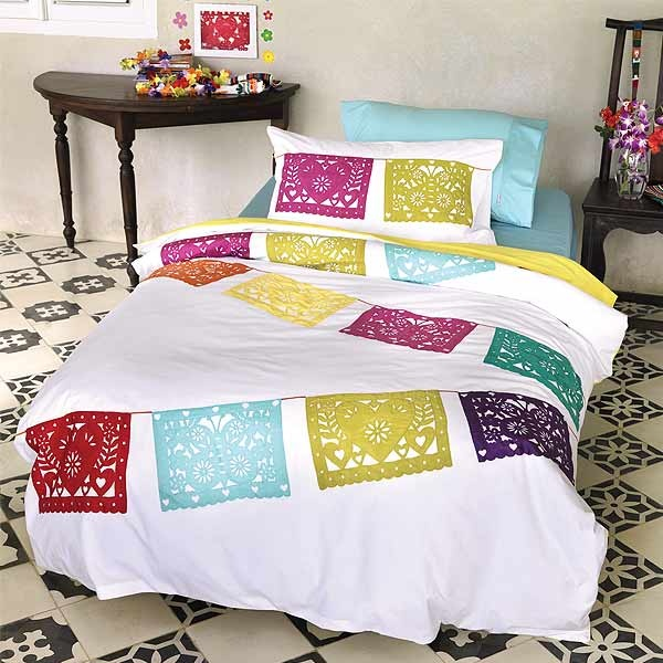 Mexican Inspired Unique And Colourful Hiccups Lola Lique Duvet Cover Set Bedding